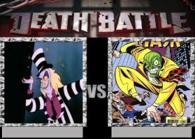 Deathbattle24: Beetlejuice vs The Mask by Mr-Wolfman-Thomas