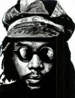 Peter Tosh by maddrawings