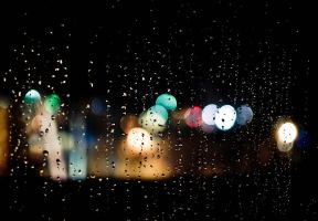 A Rainy Night Bokeh II by N1S