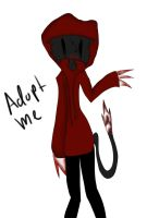 Creepypasta Adoptable #1 (CLOSED) by FireStuff13
