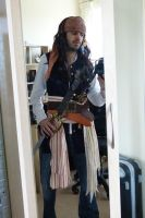 WIP Pirate Costume by The-Rover
