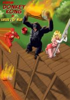 TLIID - Video mash-up Gorilla Grodd Donkey Kong by Nick-Perks