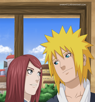 Kushina and Minato by karka92