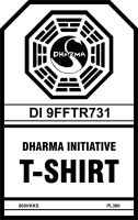 Dharma  Initiative T-Shirt by CmdrKerner