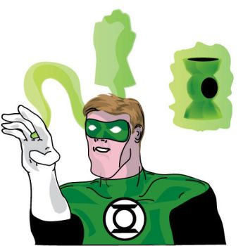 Green Lantern Up Close by shadowlesshands