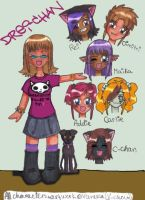 My Characters and Me by DRei-chan