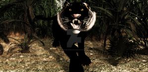 Black Tiger Legend Of Javarxa Jungle by TeddyBlackBear2040