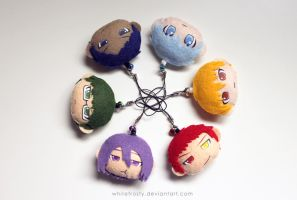 Kiseki no Sedai / Generation of Miracles by whitefrosty