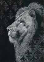 Ballpen Lion by Cindy-R