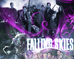 Falling Skies-DesktopWallpaper by GrafixGirlIreland