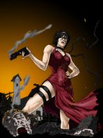 RE 4-Ada Wong-werder by Qsec