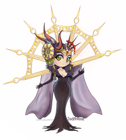Sorceress Edea by IsidithRose