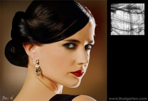 Eva Green by Itai Lustgarten by itailu