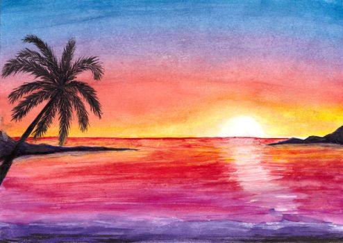 Sunset by SouKir