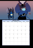 Tf callendar February by LyricaBelachium