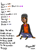 Elly's Reference by ellygonwild