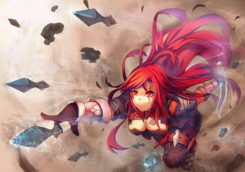 LoL Katarina by vococo