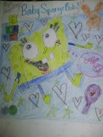 Lil' Baby SpongeBob by Angelgirl10