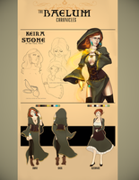 Baelum Chronicles: Keira Stone by tea-ram
