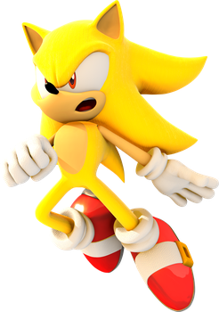 -SUPER SONIC- by IceFoxesDX