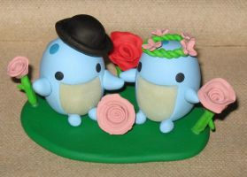 Quaggan Likes Weddings by Erajia