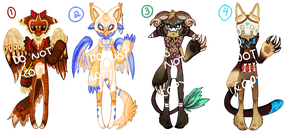 Quikadopts! Set 2 [ON HOLD] by Cami-DV