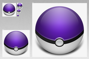 MasterBall WIP by iAndrew