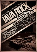 Java Rock Flyer/ Poster Template by ThinHo