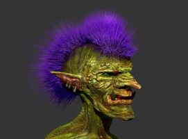 Zbrush Troll by anarchisticmoosebear