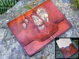 Zombie Face Ipad case by Skinz-N-Hydez