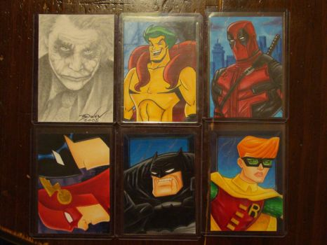 Sketch Cards for SALE by MrBowen3