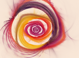 Watercolor Spiral by Arafelle