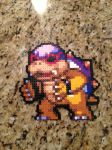 Roy Koopa Perler Beads by powerranger02