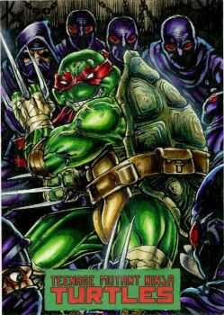 Raphael TMNT by IDW by DKuang