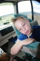 Tired in the Grand Canyon by xliredbaron02