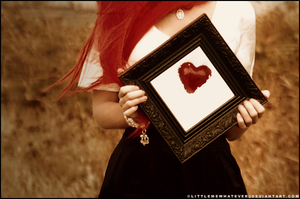 Framed Heart by littlemewhatever