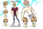 Riley O'Shea Character Sheet by LiamDoodles