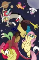Discord's Time Travel Fun! by PinkPearlApple