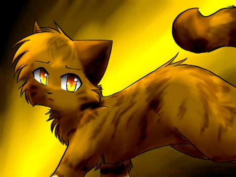 Leafpool - Running by Spottedfire-cat