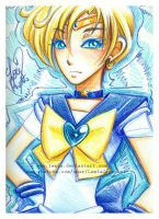 Crayola Crayon Sailor Uranus by LemiaCrescent