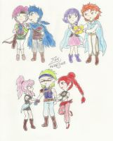 Fire Emblem The Sacred Stones couples - Part III by FoxBluereaver