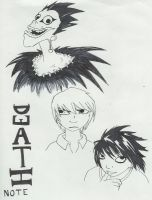 Deathnote Fanarts by Apatha7