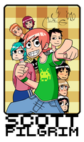 Scott Pilgrim by Manu-G