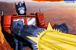 Optimus Prime - Colored by RBL-M1A2Tanker