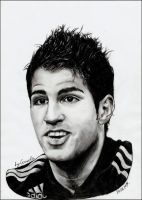 Portrait Of Cesc Fabregas by mary11dc