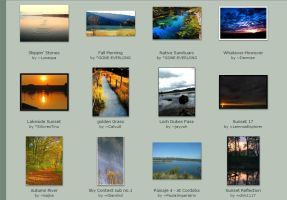 October submissions: 21st-23rd by Scapes-club