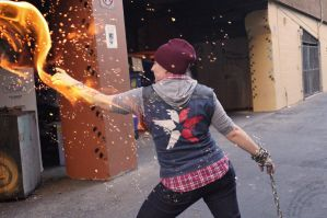 Delsin Rowe (inFAMOUS Second Son) by virusq