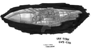 Titan-class Supercarrier by fongsaunder