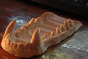 Wolf Jaw WIP by Tsukune