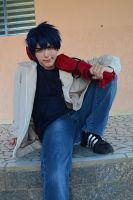 Okumura rin cosplay:Hehe ! I know I'm not Normal by Guilcosplay